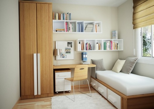 móveis planejados para decorar o quarto perqueno