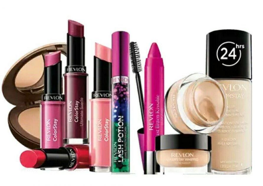 Produtos de maquiagem da Revlon