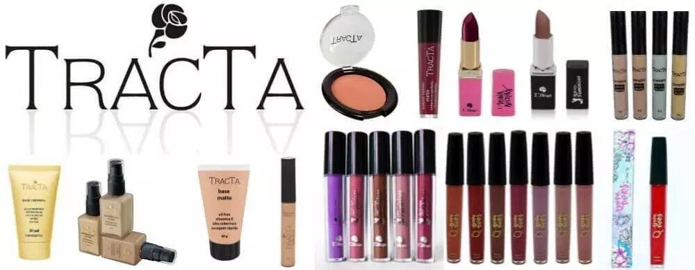 Produtos de maquiagem Tracta