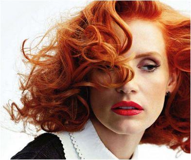 Ruiva entre as Cores de cabelos para o Inverno 2015