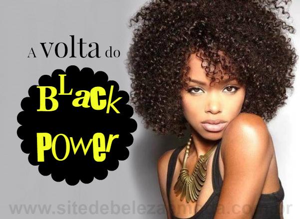 Cabelos crespos estão em alta: a volta do estilo black power!
