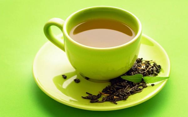 chá verde para conseguir uma pele impecável
