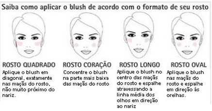 como aplicar o blush para fazer uma maquiagem rápida