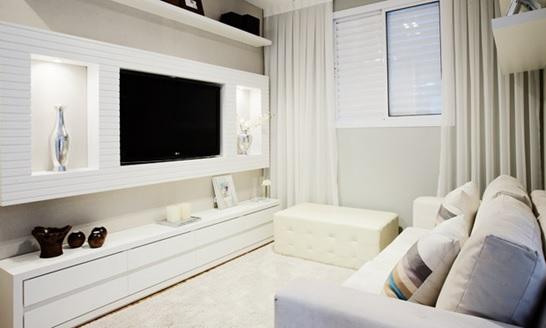 Como decorar uma sala pequena Site de Beleza e Moda