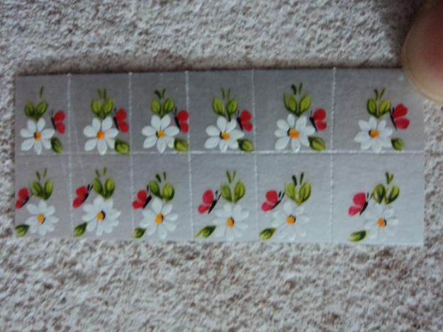 como fazer adesivos para unhas decoradas