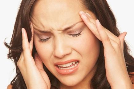 fortes dores de cabeça