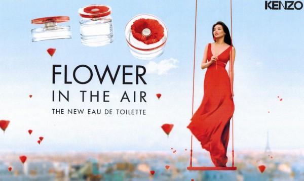 Flower in the Air é um dos lançamentos de perfume para o inverno