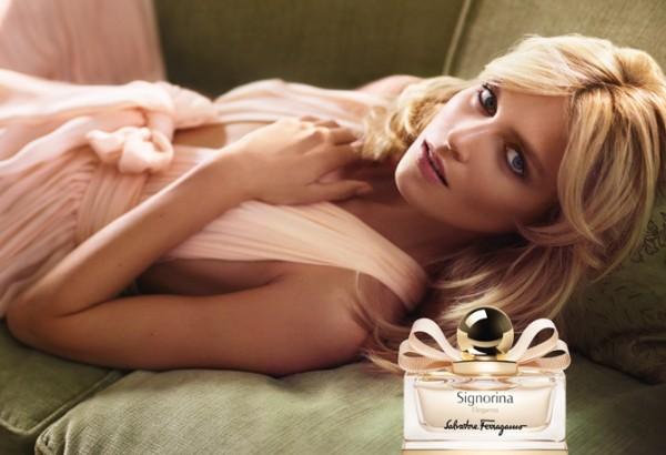 lançamentos de perfume inclui o Signorina Eleganza, Salvatore Ferragamo
