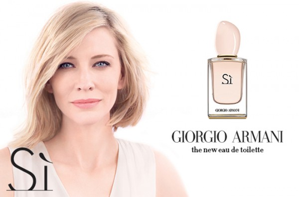 Sí EDT, Giorgio Armani entre os lançamentos de perfume