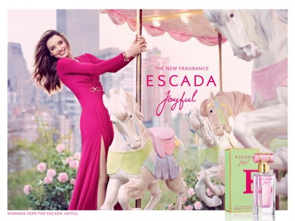 Joyful, Escada entre os lançamentos de perfume