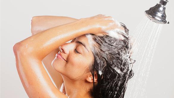 Não lave o cabelo seco todos os dias