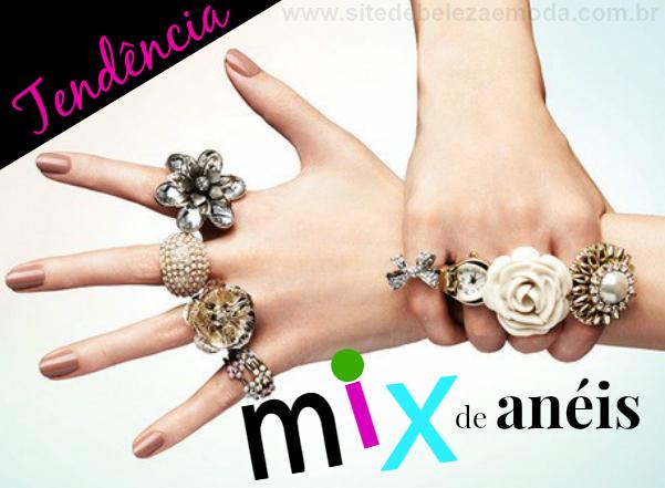 Mix de Anéis: Tendência Inverno 2015