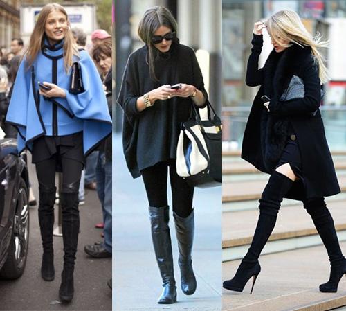 poncho é uma tendência da moda para o inverno