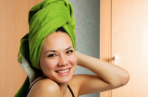 tratamento caseiro para cabelo seco