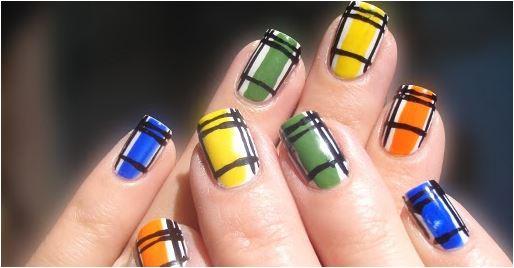 inspirações de unhas decoradas para festa junina
