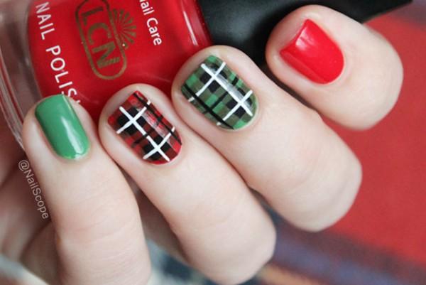 sugestão de unhas decoradas para festa junina