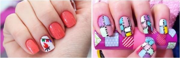 imagens de unhas decoradas para festa junina