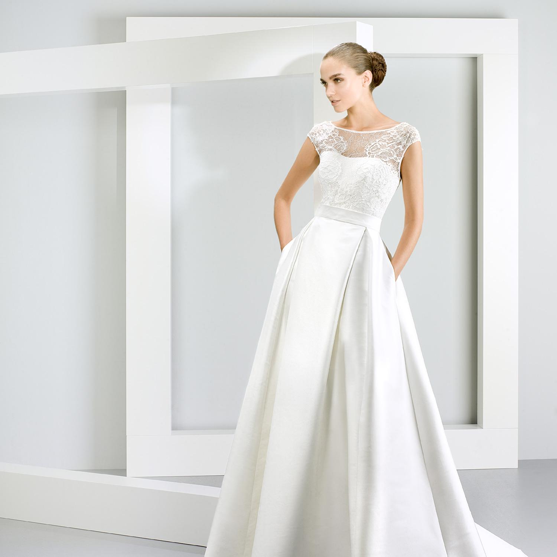 Vestidos de noiva simples para fazer