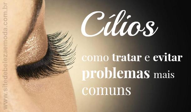 Problemas comuns nos cílios