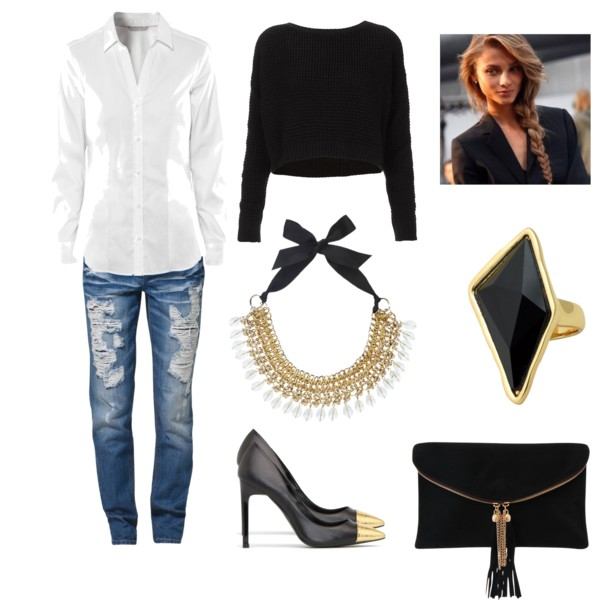 Moda inverno 2015: Dicas de look para usar Suéter Cropped