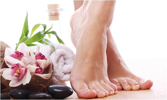 cuidados com a pele dos pés