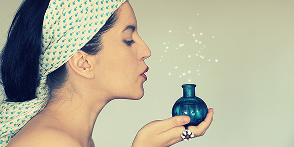 Perfumes picantes e orientais