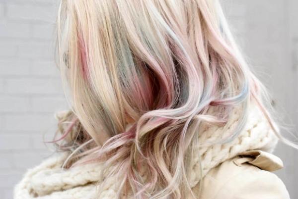 tendência do cabelo colorido