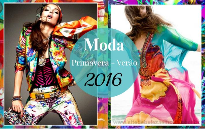MODA E DESIGN PRIMAVERA VERÃO 2016