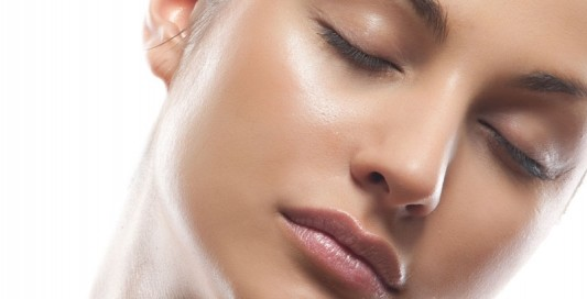 maquiagem com brilho