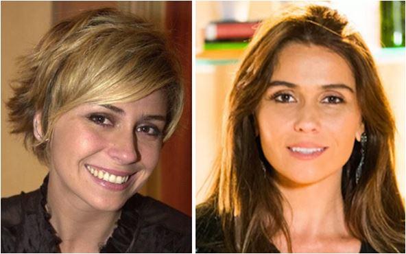 Giovanna Antonelli antes e depois do cabelo curto