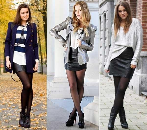 Looks com Meia-calça Transparente