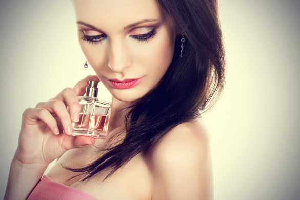 Perfumes refrescantes e picantes
