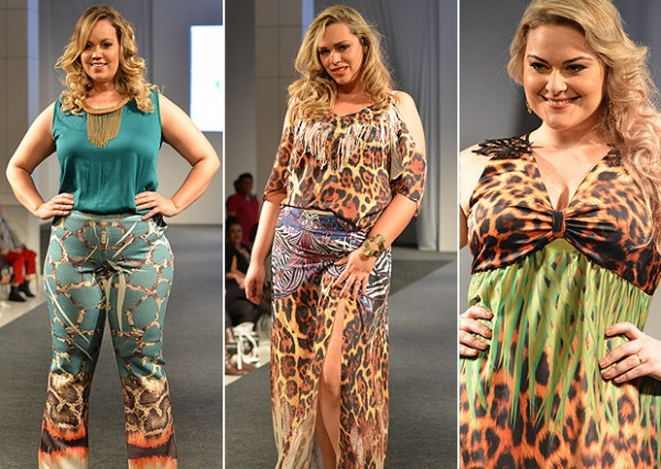 Estampa Animal Print na Moda Plus Size verão 2016
