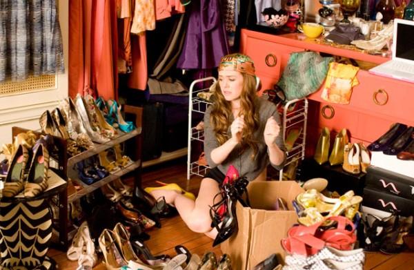 vários pares de sapato