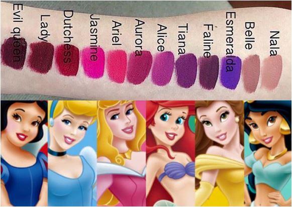 Marca lança coleção de batons inspirada nas princesas da Disney