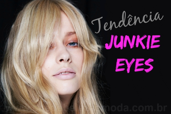 Junkie eyes: make com cara de ressaca