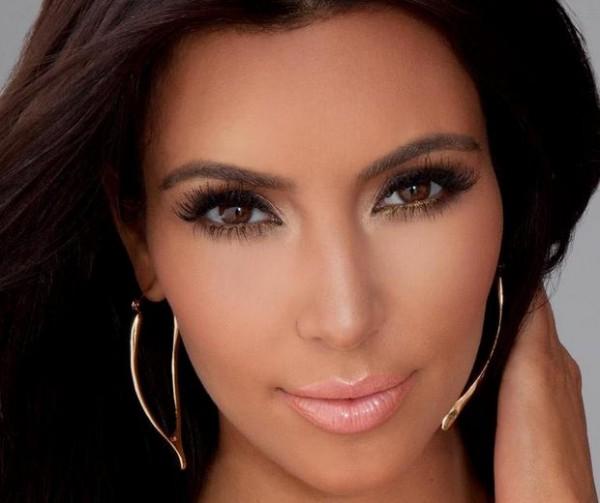 Maquiagem de Kim Kardashia