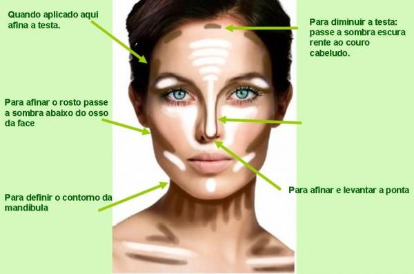 Harmonizando na maquiagem que afina o rosto