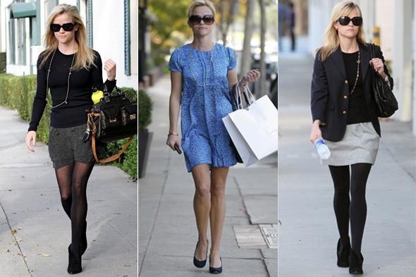 Reese Witherspoon nas ruas