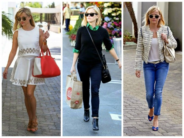 Reese Witherspoon em estilo casual
