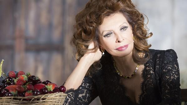 Sophia Loren aos 81 anos