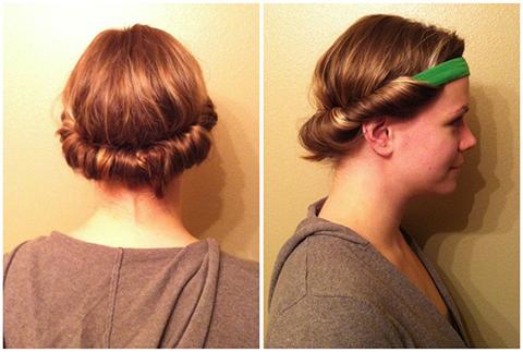Cachos com elástico largo ou faixa para cabelos