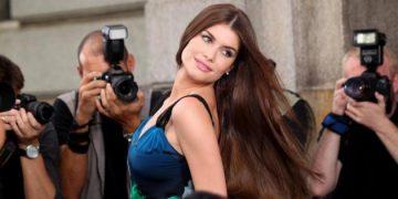 Aline Moraes de cabelo longo