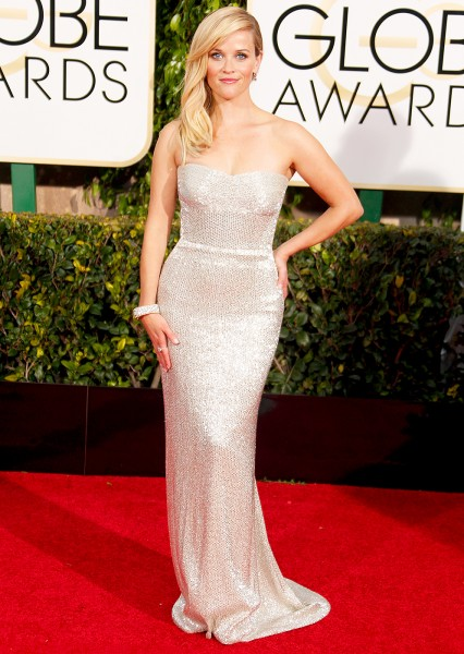Reese Witherspoon no Globo de Ouro