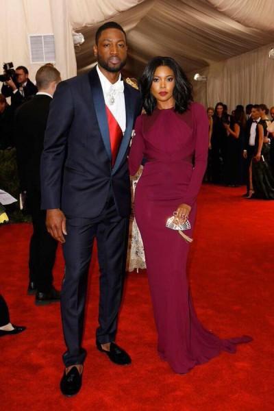 Gabrielle Union e o seu marido Dwyane Wade