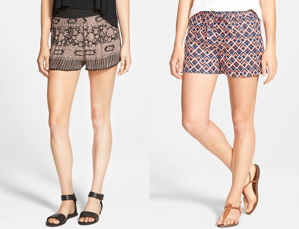Shorts elegantes que fogem do casual