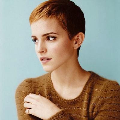 Emma Watson em 2010 no estilo pixie