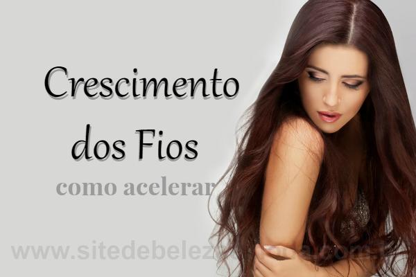 Técnicas para estimular o crescimento do cabelo