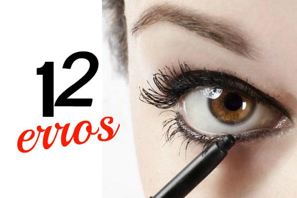 12 erros mais cometidos ao maquiar os olhos