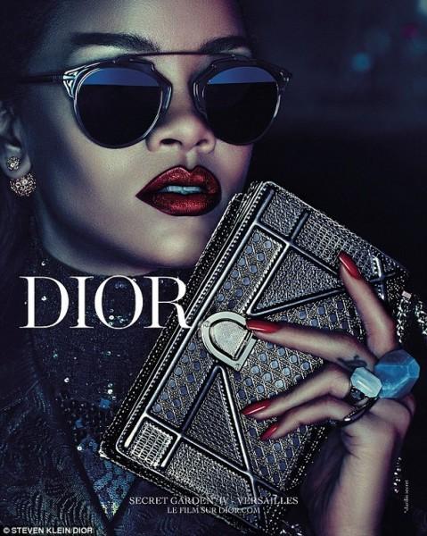 Dior na campanha Secret Garden IV